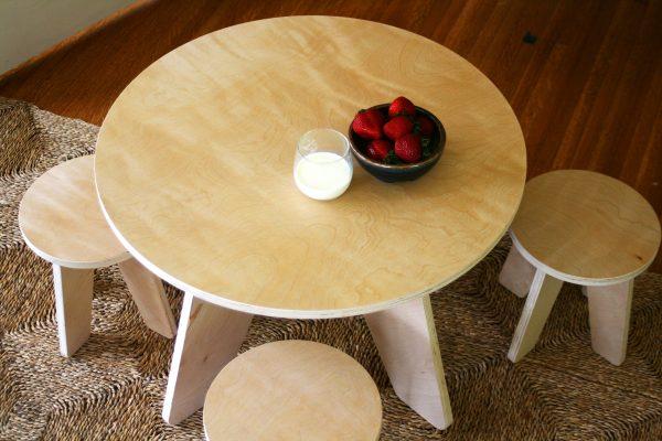 Sodura Aero Kids Table and stools