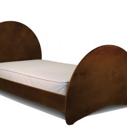 Sodura Aero Twin Bed Cocoa