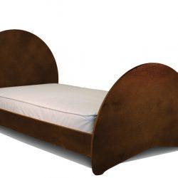 Sodura Aero Twin Bed Cocoa