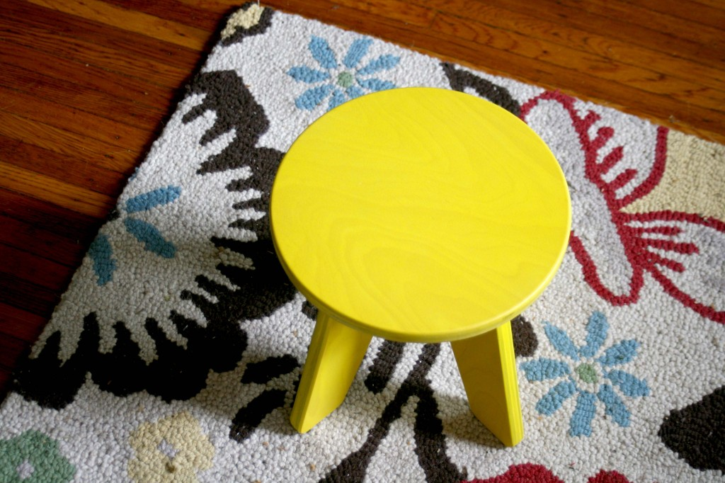 Yellow Aero Stool