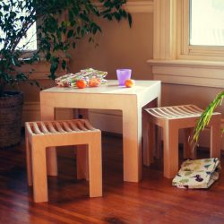 Sodura Cube Table and Stools