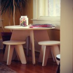 Sodura Aero Table and Stools Set