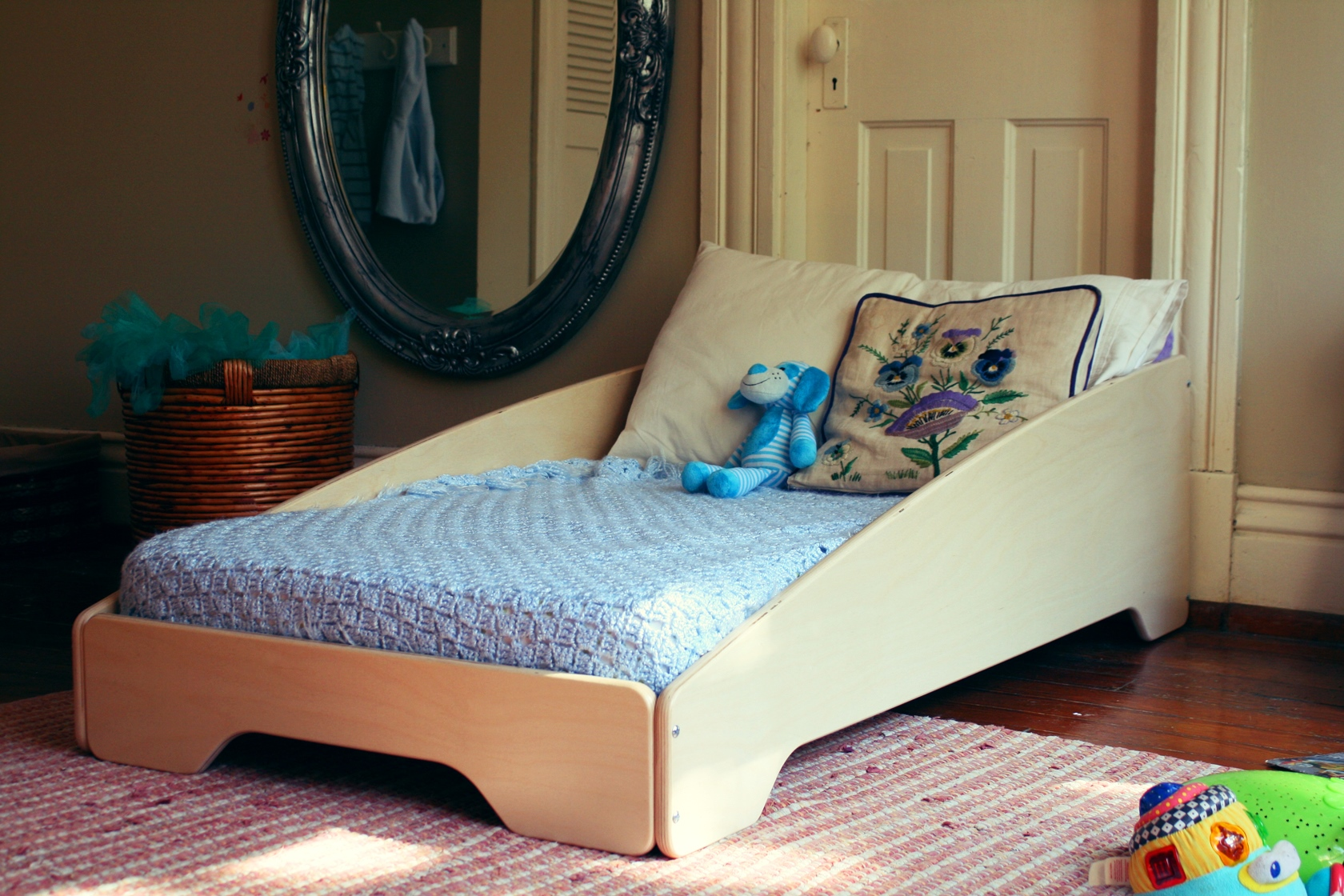 Zoom Toddler Bed