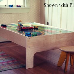 train table with playboard